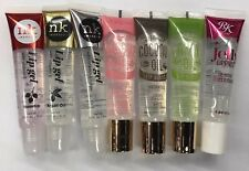 Clear Lip Gloss Oil Gel By NK & Kiss Brand Mint RoseHip Coconut Argan Oil 7pcs
