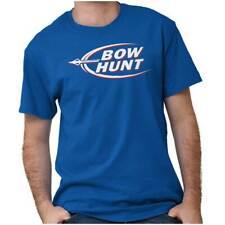 Bow Hunting Funny Beer Deer Buck Novelty Gift Short Sleeve T-Shirt Tees Tshirts