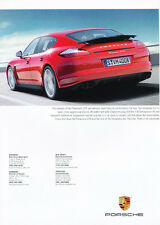 2013 Porsche Panamera GTS 2-page -   Classic Car Advertisement Print Ad J62