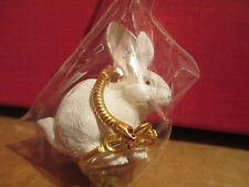 Rabbit ~ White ~ Key Chain