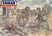 EMHAR 7201 WWI BRITISH INFANTRY WITH TANK CREW. WW1 TOMMIES. 1:72 SCALE FIGURES