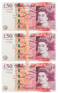 £50 x 3 Notes printed on Premium Edible Icing sheet, Cake toppers