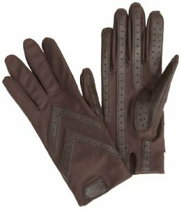 Isotoner - Cold Weather - Spandex - Shortie Glove with SmartDRI Brown