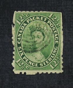 CKStamps: Canada Stamps Collection Scott#18 Victoria Used