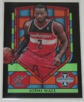2013/14 John Wall Wizards Panini Innovation Stained Glass Insert Card #73 MT