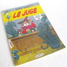 LUCKY LUKE n° 13 Le Juge (1969) DUPUIS 20,5 x 29 broché 46 pages