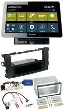 Blaupunkt Bluetooth TMC 2DIN USB DAB Lenkrad Navigation für Toyota Auris 2011-20