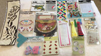 Large Lot of scrapbooking Stickers and Embellishments