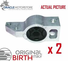 2 x BIRTH FRONT AXLE CONTROL ARM WISHBONE BUSH PAIR GENUINE OE QUALITY - 2628