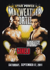 Floyd Mayweather Jr. Victor Ortiz Morales Canelo Star Power 2011 WBC T-shirt  XL