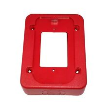 System Sensor Spectralert BBS Red Back Box Skirt For Surface Mount Applications