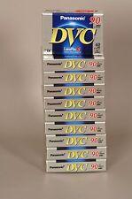 Panasonic cassette mini DV 60/90 10 PEZZI