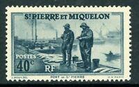 French St Pierre Miquelon 40¢ Fisherman Commem MNH R617 ⭐⭐⭐⭐⭐