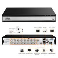 ZOSI Standalone DVR 16ch 1080p HD HDMI Hybrid Recorder for Security System Kit