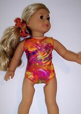 """Gymnastics Dance Leotards, Swimsuit, Clothing to fit 18"""" American Girl Dolls"""