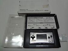Original Faceplate for Game Boy Micro SuperRobot Taisen + Box Nintendo Japan NEW