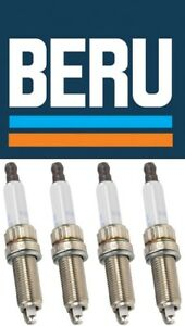 Set of 4 OE BERU Z336 Spark Plugs MINI Non-Turbo OE #: 12122158165 see fitment
