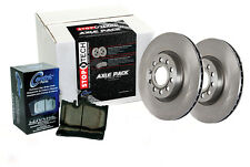 Front Brake Rotors + Pads for 2000-2000 Audi A8 QUATTRO [To Ch# 4D-Y-005 500]