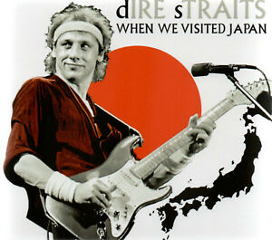 DIRE STRAITS - WHEN WE VISITED JAPAN (TOKYO 1983) - 2CD DIGISLEEVE  NEW RELEASE