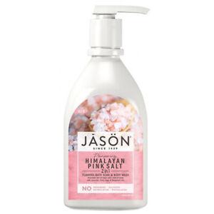 Jason Pampering Himalayan Pink Salt 2 in 1 Foaming Bath Soak & Body Wash 887ml