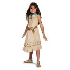 Disguise Girls' Disney Princess Pocahontas Classic Halloween Costume, S 4/6X,NIP