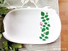 "Arzberg Germany Grand Prix Triennale Mailand Platter Pink Rose 12"" Wide"
