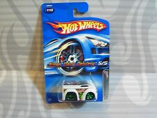 2005 HOT WHEELS ''CRAZED CLOWNS II'' #115 = BLINGS DAIRY DELIVERY = WHITE , 0916