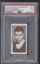 Churchman - Boxing Personalities 1938 - Max Schmeling - PSA 7 NM