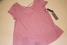 Jennifer Lopez J LO Top Shirt Orchid  Sparkle Women's Size S  NWT NEW Blouse