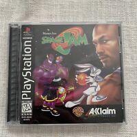 PS1 Space Jam (Sony PlayStation 1, 1997) VTG Michael Jordan Game Complete