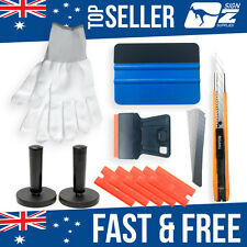 PRO Cutter Squeegee Razor Wrapping Gloves 2 Magnets Car Wrap Vinyl Tools Kit