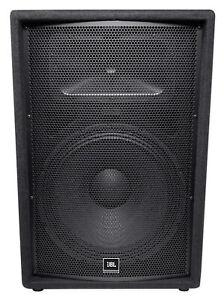 """JBL Pro JRX215 1,000 Watt 15"""" Inch 2-Way Passive DJ P/A Speaker Cabinet - NEW!"""