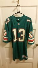 VINTAGE Authentic Miami Dolphins #13 Dan Marino jersey Russell size 44