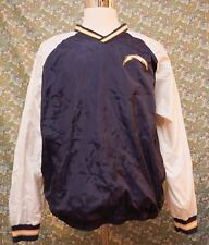 NFL San Diego Chargers XL Pullover Men Windbreaker Shirt Sweater Blue Sewn VTG
