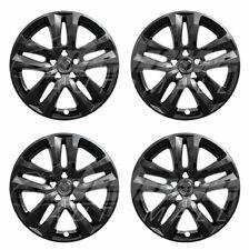 "18"" Black Wheel Skins Hubcaps (Set of 4) FOR 2018 2019 Ford Explorer"