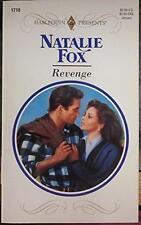 Harlequin Presents: Revenge by Natalie Fox (1994, Paperback)