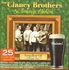 CLANCY BROTHERS & TOMMY MAKEM  - VERY BEST OF VOL.1 CD 25 TRACKS NEW