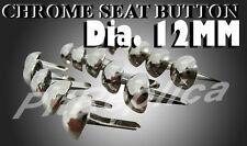 BMW BSA BENELLI BIG DOG CHROME SEAT BUTTON 15PCS #3