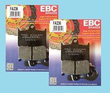2 Sets EBC FA236  Front Brake pads for Triumph Tiger Explorer   1200   2012-15