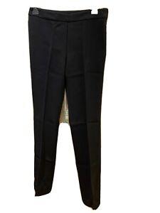 Aquascutum Black Wool Trousers