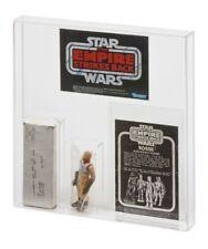 GW Acrylic Mailer Display Case Vintage Star Wars ESB Bossk & Survival Kit AMC009