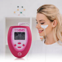 Facial Wrinkle Remover Skin Tightening Mini Microcurrent Face Lift Machine Pink