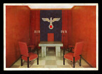 Germany 3rd Reich German Real Picture Postcard Cover Dachau Ceremony Room RPPC