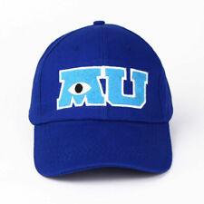 Parks Monsters University Mike Wazowski Adult Baseball Cap Hat MU M U NEW