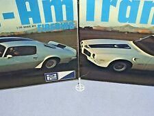 "MPC 1971 PONTIAC FIREBIRD ""TRANS-AM"" KIT#1-0451-225 AMT 1/25 STEERING WHEEL ONLY"