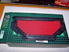 Hi-Flo Air Filter for 2003-4 Kawasaki ZX6RR & ZX636. Cleanable, Re-Usable (1a)
