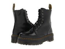 Para mujeres Zapatos Dr. Martens Impermeable Cuero 8 Ojo Plataforma Botas 15265001 Negro