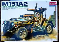 ACADEMY 1/35 SCALE M151A2 TOW MISSILE LAUNCHER - #13406 - NEW & FACTORY SEALED