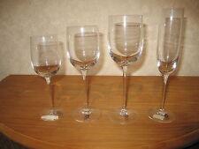 BOUSSU *NEW* CASINO Set 4 Verres Glasses