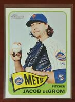🔥🔥 2014 Topps Heritage High #H549 Jacob DeGrom RC Mets ROY Cy Young 🔥🔥